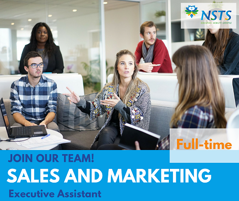 Sales and marketing Job Ad NSTS